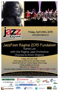 Casino Regina JazzFest Fundraiser