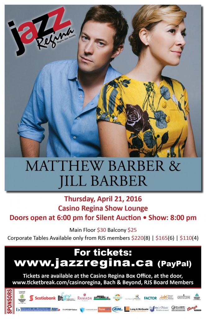 Jazz_Matthew & Jill Barber_Poster_NO CASINO LOGO
