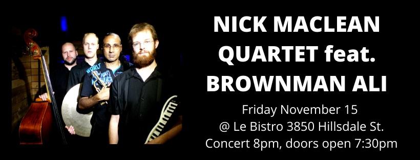 Nick McLean Quartet