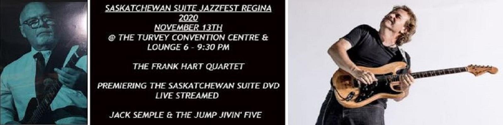 Saskatchewan Suite JazzFest Regina 2020